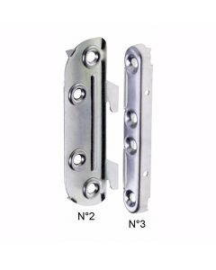 Bed Connecting Brackets Hook In Style 100mm