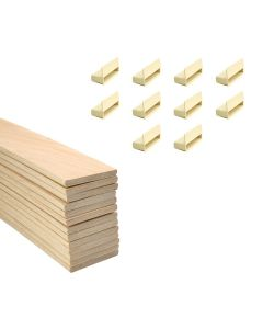 53mm Sprung Bed Slats Assembly Set for Wooden Beds Double Row (4ft6,5ft or 6ft)