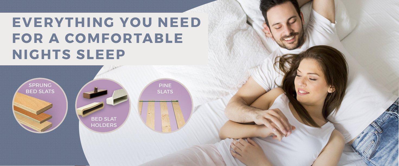 Everything you need for a comfortable nights sleep